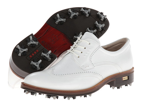 ECCO Golf - Golf New World Class (White/White) Men's Golf Shoes