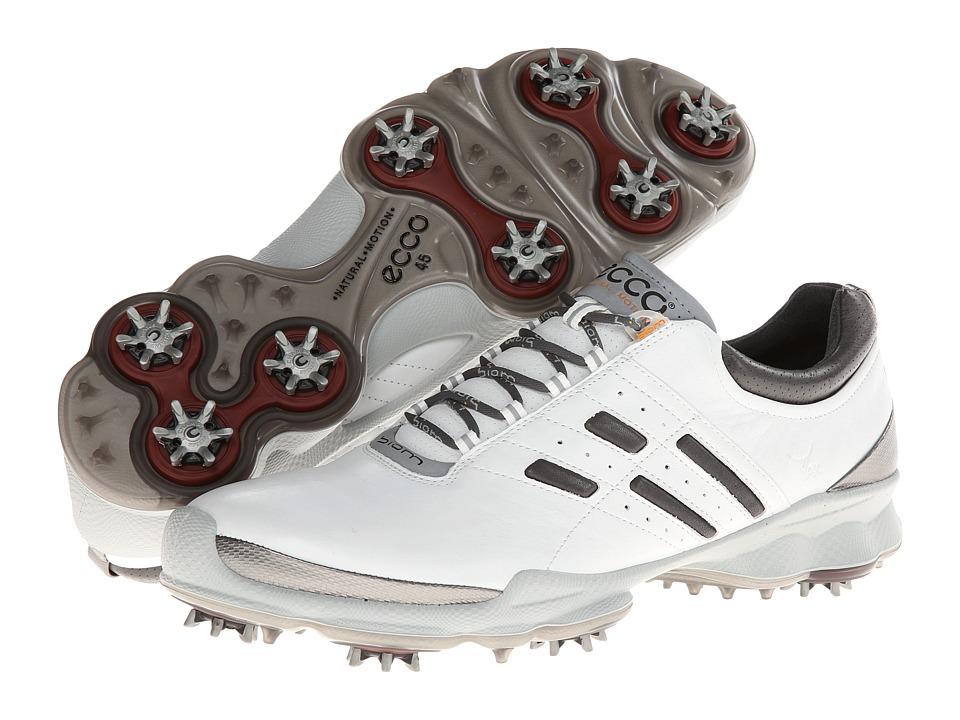 ECCO Golf - Biom Golf (White/Steel) Men