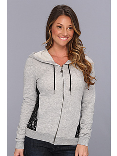 SALE! $36.37 - Save $19 on Volcom Lace A Lot Zip (Heather Grey) Apparel - 33.87% OFF $55.00