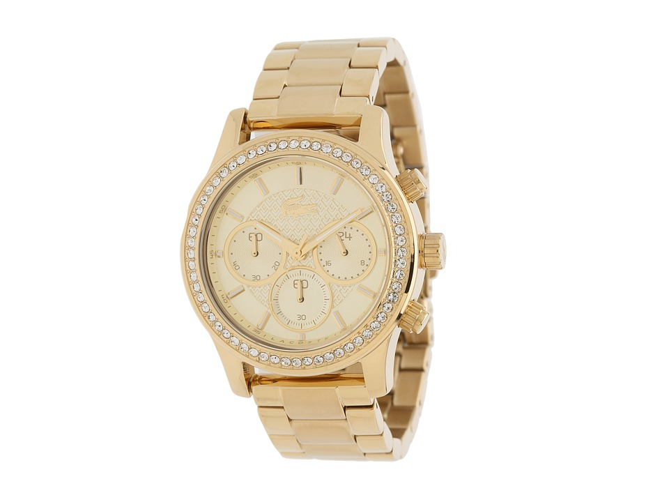 Lacoste - Charlotte (Gold) Chronograph Watches