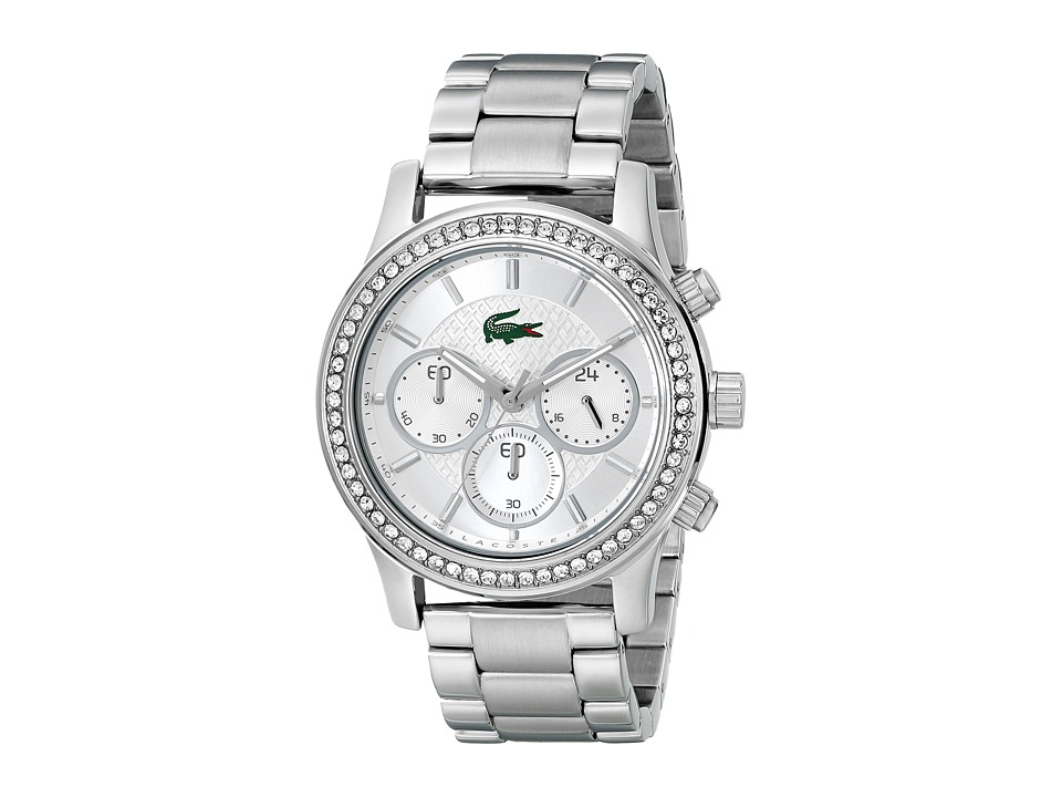 Lacoste - Charlotte (Silver) Chronograph Watches