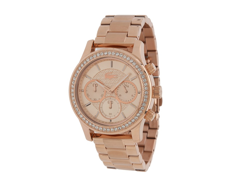 Lacoste - Charlotte (Rose Gold) Chronograph Watches