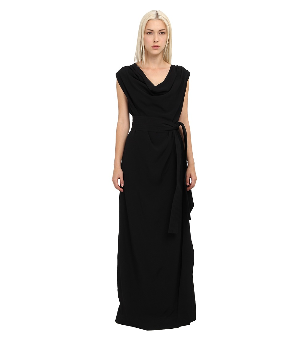 Vivienne Westwood - Draped Gown (Black) Women's Dress
