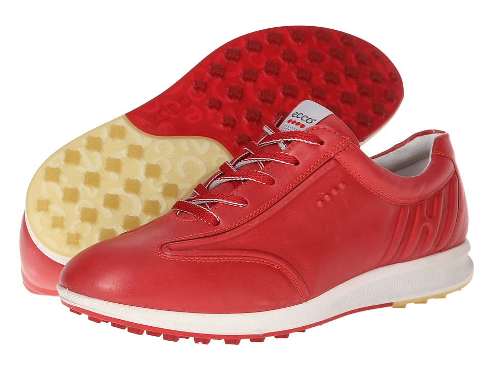 ECCO Golf - Street Evo (Chili Red) Women's Golf Shoes