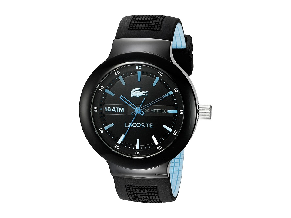 Lacoste - Borneo (Black/Blue) Watches