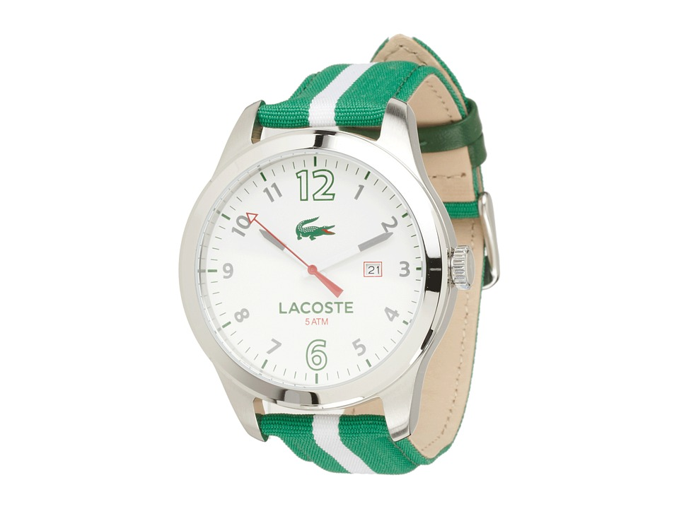 Lacoste - Auckland (Green/White) Watches
