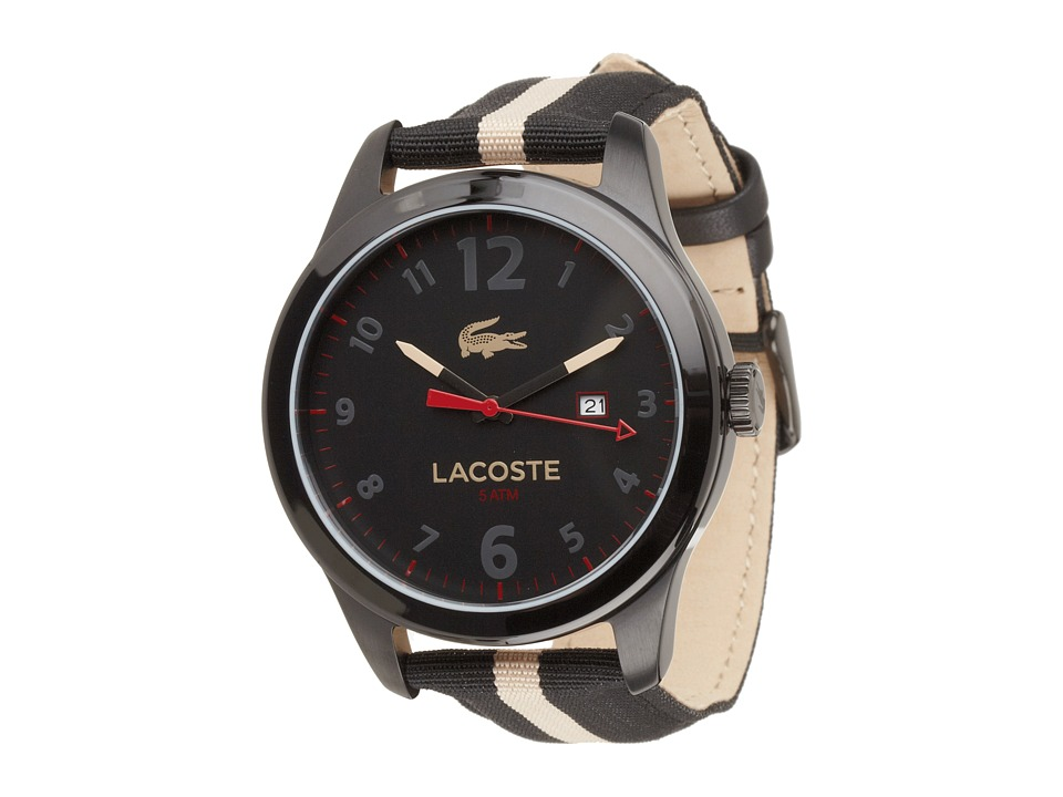 Lacoste - 2010724-AUCKLAND (Black/Taupe) Watches
