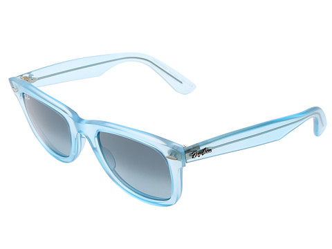 Ray-Ban - RB2410 Original Wayfarer Ice Pops 50mm (Demi Gloss Ice) Plastic Frame Fashion Sunglasses