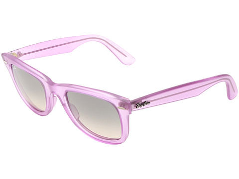 Ray-Ban - RB2410 Original Wayfarer Ice Pops 50mm (Demi Gloss Violet) Plastic Frame Fashion Sunglasses