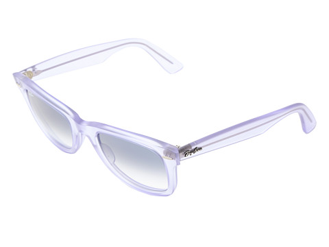 Ray-Ban - RB2410 Original Wayfarer Ice Pops 50mm (Demi Gloss Lilac) Plastic Frame Fashion Sunglasses