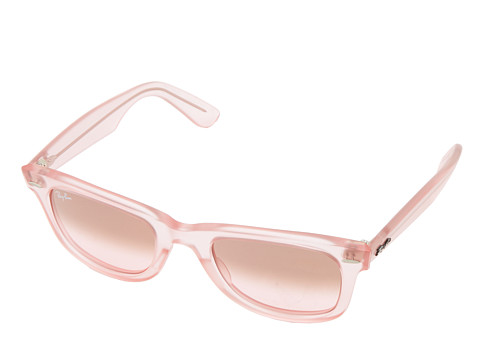 Ray-Ban - RB2410 Original Wayfarer Ice Pops 50mm (Demi Gloss Pink) Plastic Frame Fashion Sunglasses