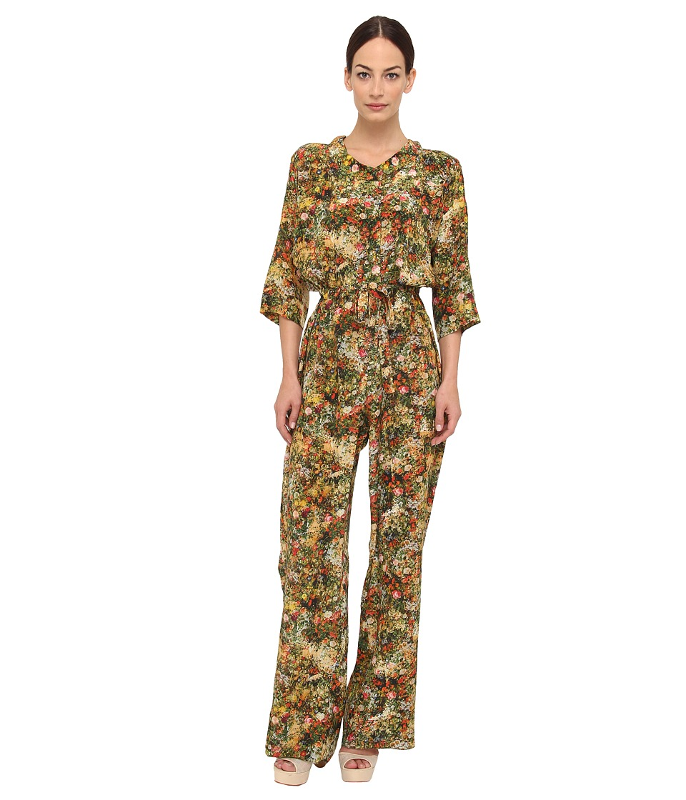 Vivienne Westwood - S26FP0009-S42644 Jumper (Red/Brown Multi) Women's Jumpsuit & Rompers One Piece