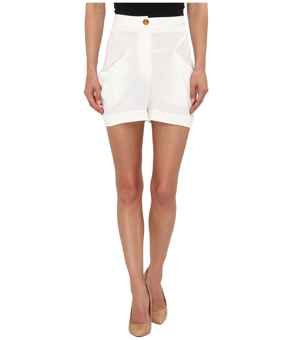 Vivienne Westwood Red Label - S26MU0043-S42618 Shorts (Ivory) Women's Shorts