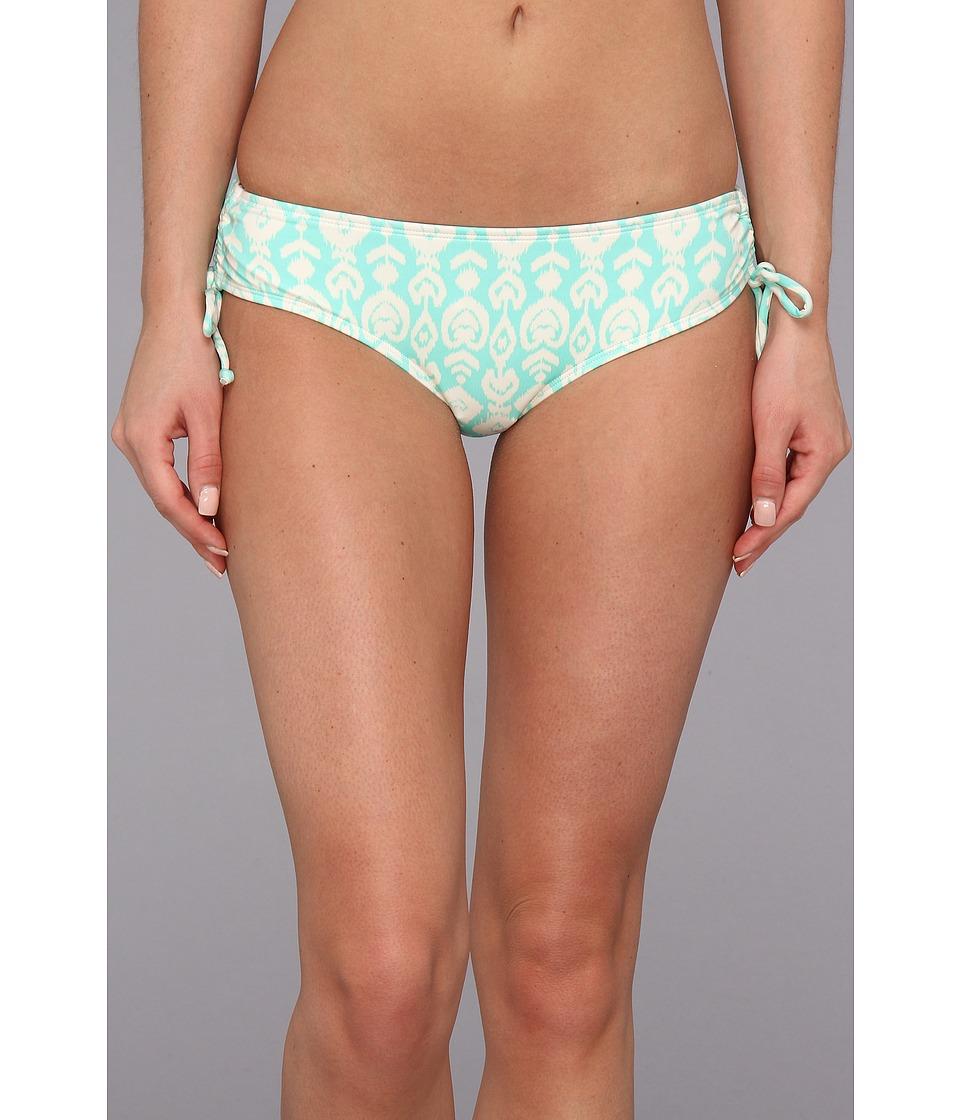 O'Neill - Delilah Cinched Tie Side Bottom (Light Aqua) Women's Swimwear