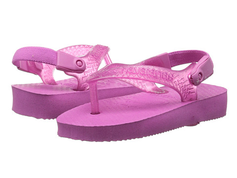 Havaianas Kids - Top Flip Flops (Toddler) (Light Pink) Girl's Shoes