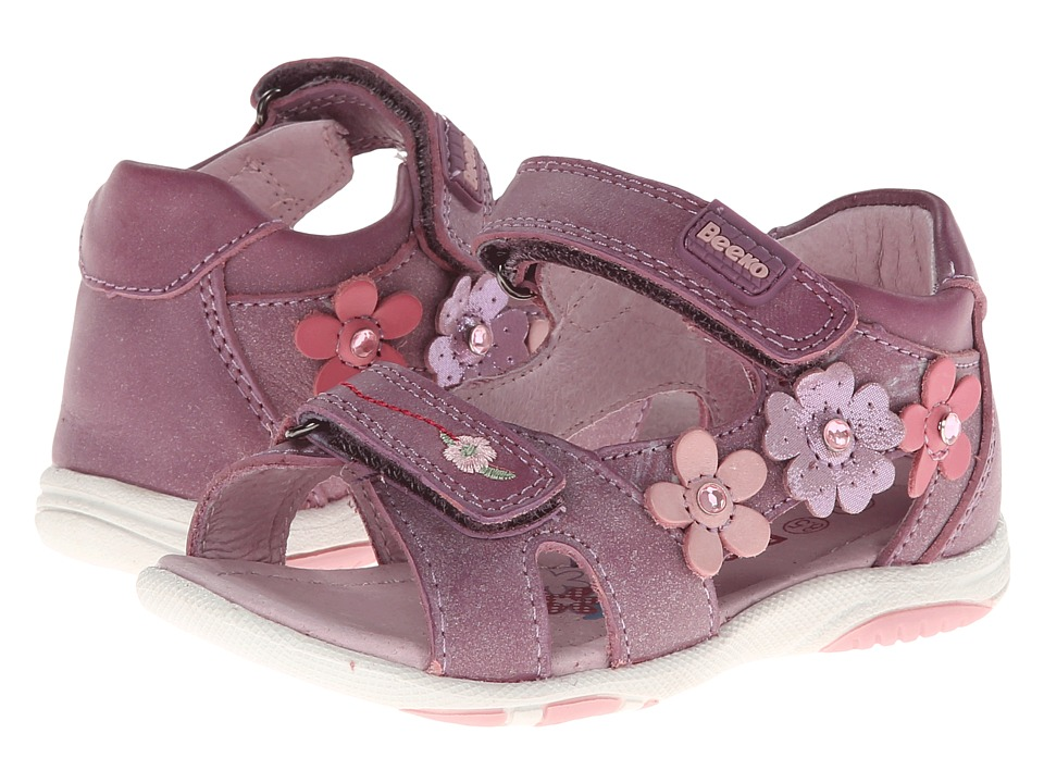 Image of Beeko - Bonnie (Toddler) (Purple) Girls Shoes