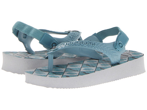 Havaianas Kids - Baby Chic (Toddler) (Ice Grey) Boys Shoes