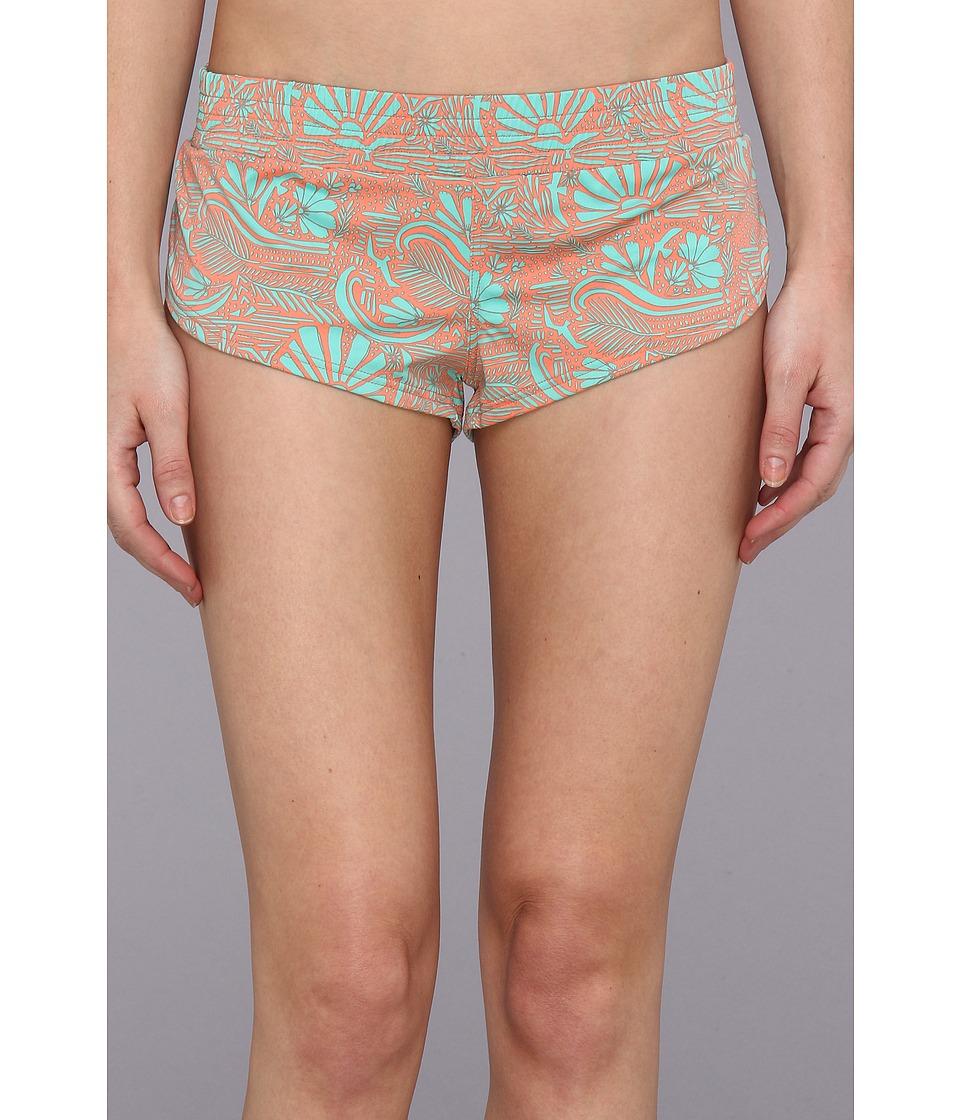 O'Neill - Seascape Boardshort 2 (Juniors) (Coral) Women's Swimwear