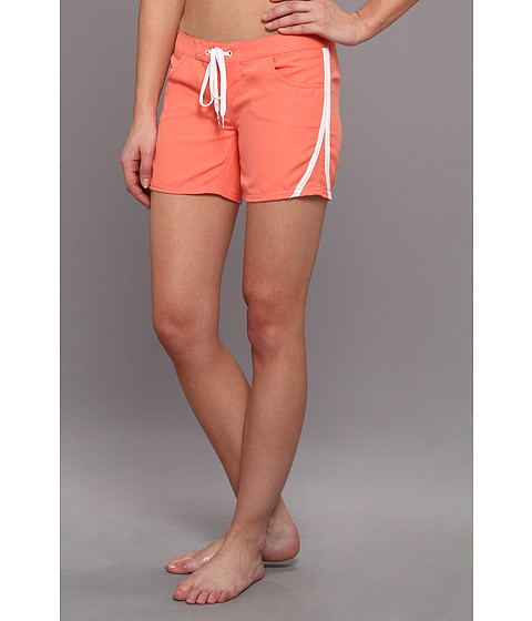 O'Neill - Lilu Boardshort 5 (Juniors) (Coral) Women's Swimwear