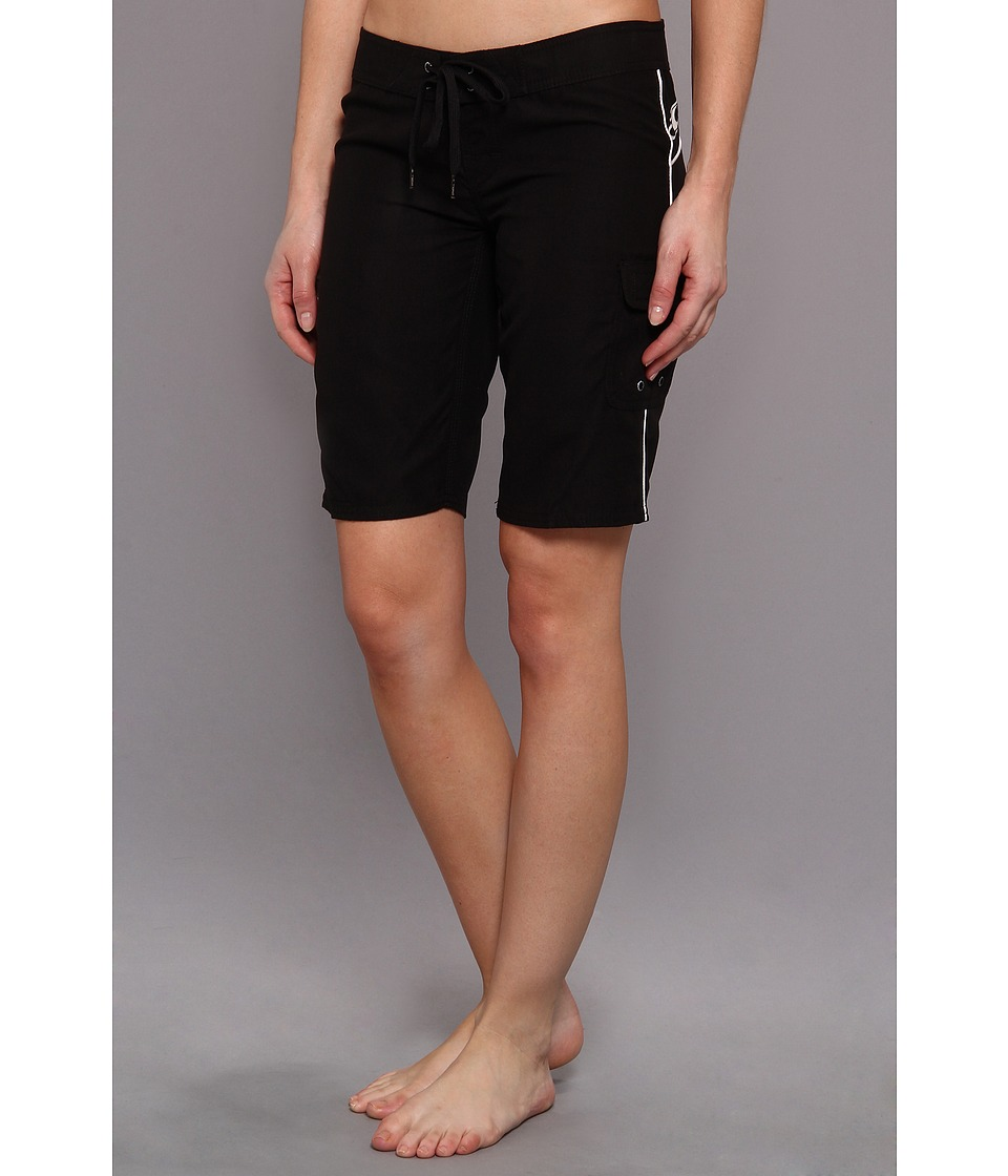 O'Neill - Caspian Boardshort 11 (Black) Women's Swimwear