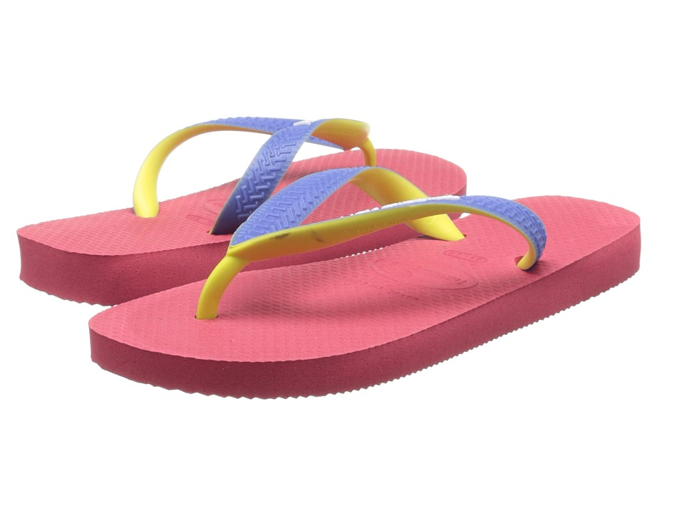 Havaianas Kids - Top Mix (Toddler/Little Kid/Big Kid) (Neon Pink) Girls Shoes