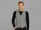 DKNY Jeans Cotton Oxford Vest