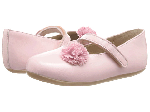 Pazitos - Flower MJ (Toddler) (Pink) Girls Shoes