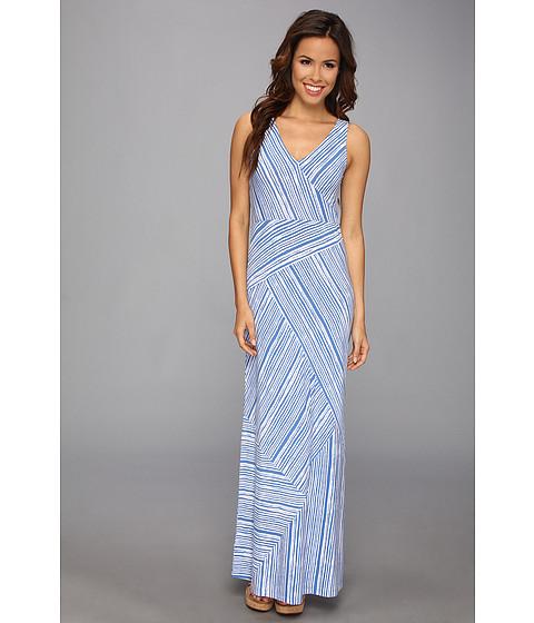 Tommy Bahama - Terrace Stripe Pieced Dress (Palace Blue) Women