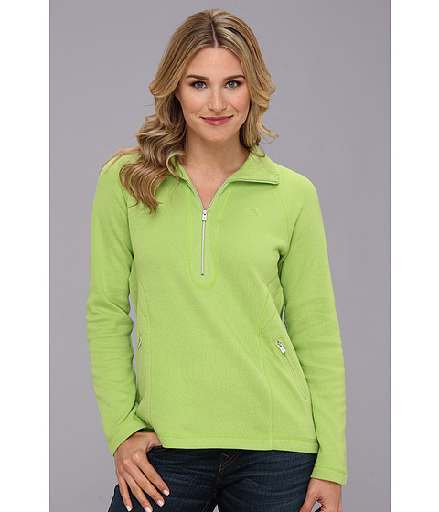Tommy Bahama - Lightweight Aruba 1/2 Zip (Spring Fresh) Women's Long Sleeve Pullover