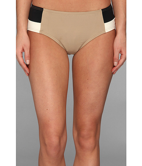 DKNY - Metro Block Color Blocked Classic Bottom (Bare) Women's Swimwear