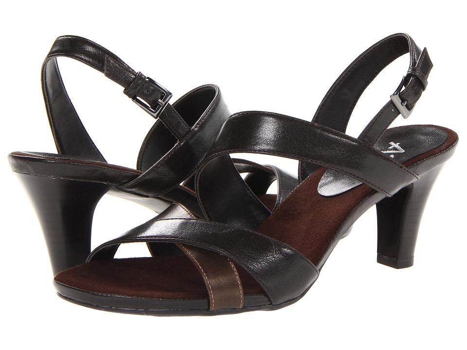 Aerosoles - Powpyrus (Dark Brown Combo) Women's Shoes