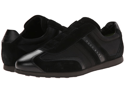 BOSS Green - Stiven On (Black) Men's Slip on Shoes