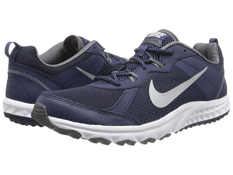 Nike - Wild Trail (Midnight Navy/Dark Grey/Wolf Grey/Metallic Silver) Men