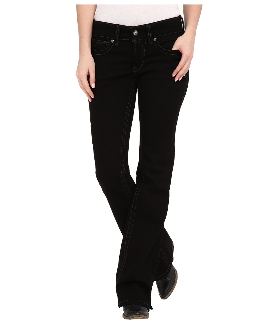 Ariat - R.E.A.L. Riding Jean (Black) Women's Jeans