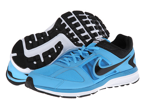 Nike Air Relentless 3 (Black/Vivid Blue/Black) Men's Running Shoes