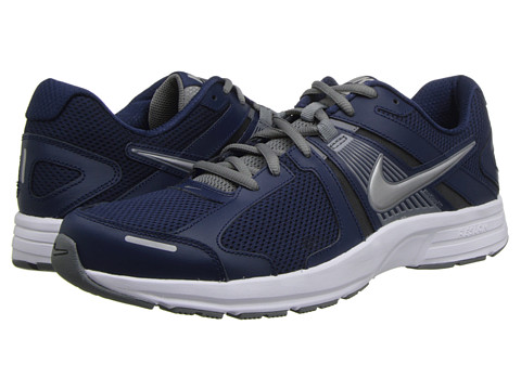 Nike - Dart 10 (Midnight Navy/Cool Grey/White/Metallic Silver) Men