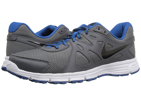 Nike - Revolution 2 (Dark Grey/Military Blue/White/Black) Men's Running Shoes
