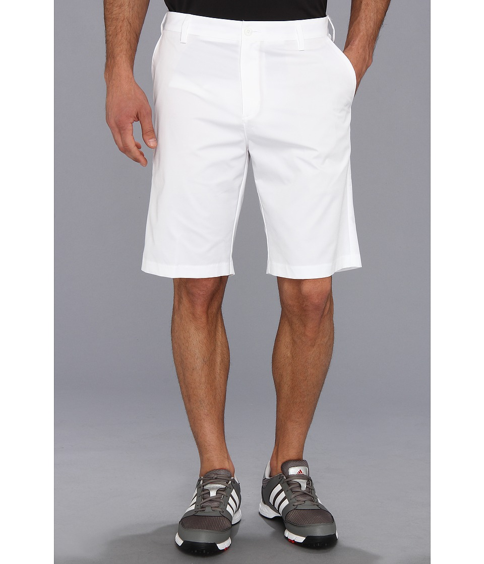 adidas Golf - Flat Front Tech Short '16 (White) Men's Shorts