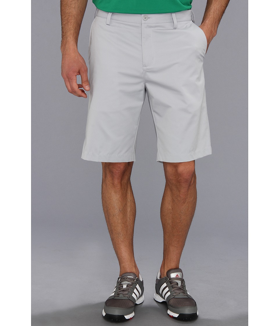 adidas Golf - Flat Front Tech Short '16 (Light Onyx) Men's Shorts