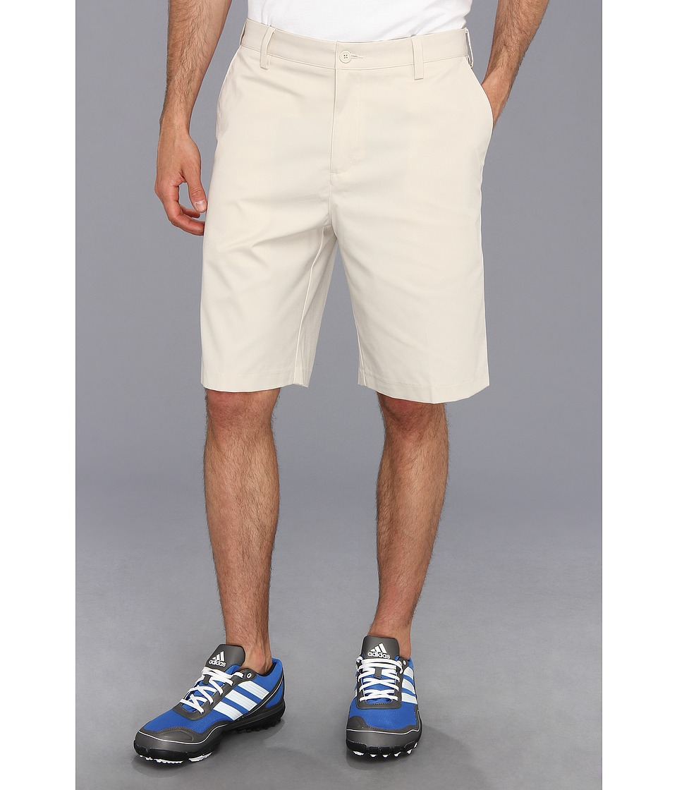 adidas Golf - Flat Front Tech Short '16 (Ecru) Men's Shorts
