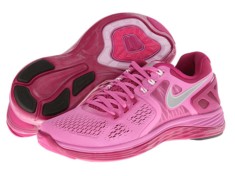 Nike - Lunareclipse +4 (Red Violet/Bright Magenta/Summit White/Reflective Silver) Women