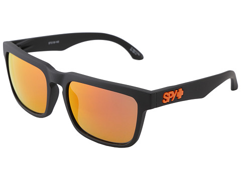 Spy Optic - Helm Spy or Die (Matte Black - Grey w/Orange Spectra) Sport Sunglasses