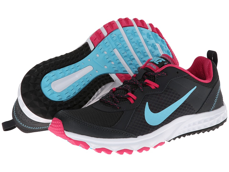 Nike - Wild Trail (Anthracite/Vivid Pink/White/Polarized Blue) Women's Running Shoes