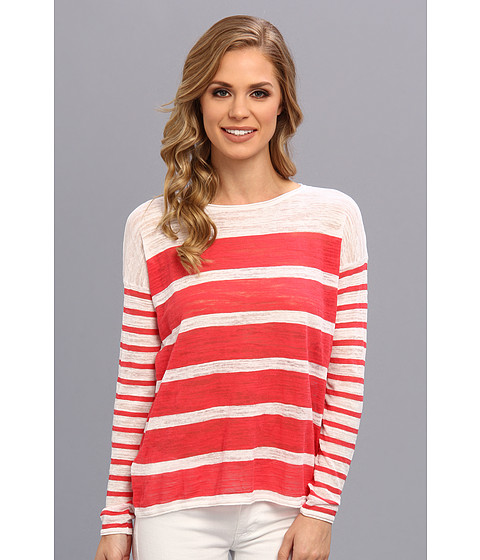 Tommy Bahama - Almar Stripe Pullover (Paradise Pink) Women