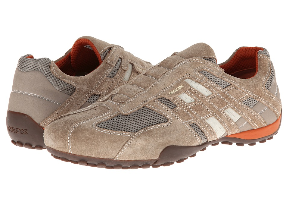 Geox Uomo Snake 96 (Beige/Dark Orange) Men