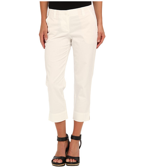 Tommy Bahama - Sail Away Twill Crop (White) Women's Clothing