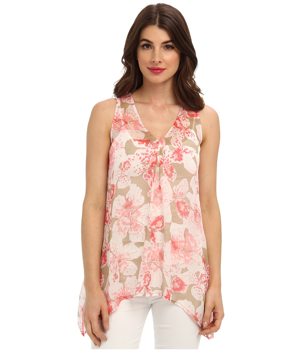 Tommy Bahama - Negril Flowers Top (Paradise Pink) Women