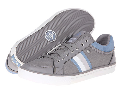 Original Penguin - Thaw Canvas (Grey Washed) Men's Lace up casual Shoes
