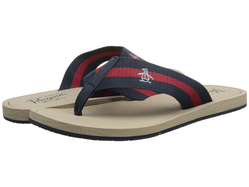 Original Penguin - Poolside (Dress Blue/Oxford) Men's Sandals