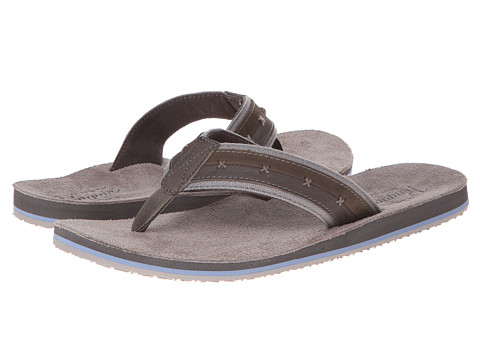 Original Penguin - Split (Grey) Men's Slide Shoes